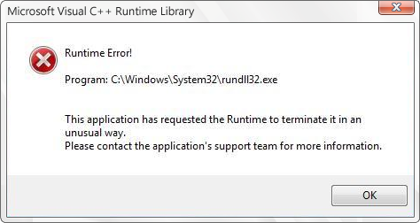 Fix Rundll32.exe Error