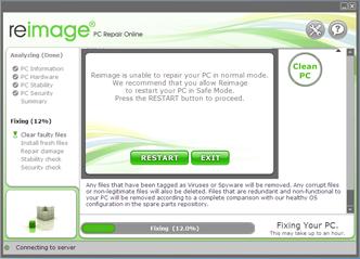 Reimage Screenshot